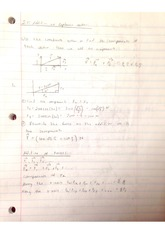 Addition of Coplaner Vectors class notes