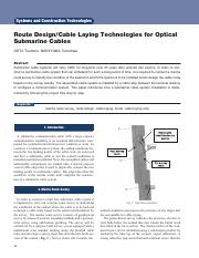 route design-cable laying technologies for optical submarine cables.pdf
