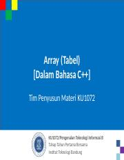 KU1072_07-Array_CPP_031015.ppt
