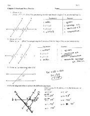 Proofs Practice With Key Geo 2013 Chapter 3 Proof And More