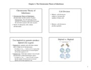 Chapter 4 (Chromosomal Theory) printed lecture notes-5e (1)