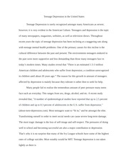 essay about depression