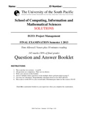 Solutions_release_Answer paper IS333 S12013 Final