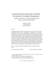 Geiger et al 2007_An international comparison of student perceptions of earnings management