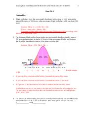 NORMAL DISTRIBUTION AND PROBABILITY THEORY.docx