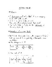 Vector derivative notes