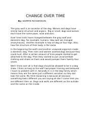 CHANGE OVER TIME.docx