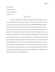 unit one essay.doc