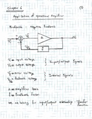 Topic 11 - Opamp Applications