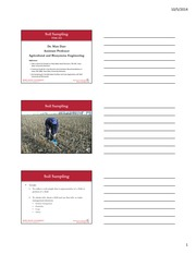 Lecture14-SoilSampling with 2013 PM1688 3 Slides with notes(1)