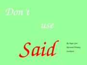 dont_use_said