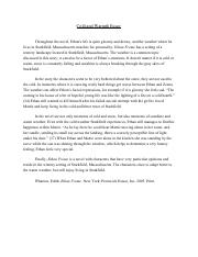 Ethan Frome Cold and Warmth Essay.pdf