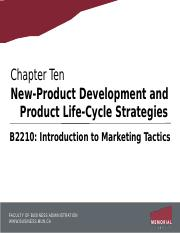 Chapter 10 - New Product Development and PLC.pptx
