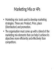 Marketing Mix or 4Ps.ppt