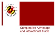 comparative advantage international trade blended learning canvas