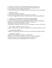 REC 4100 Interview questions
