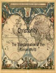 2 - 4 Christianity and Transformation of Roman World.pptx