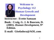 Approaches to Understanding Human Development