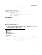 Class Notes 9-8-14