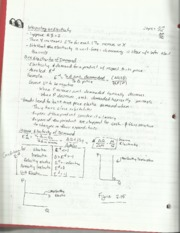 Microeconomic Theory Elasticity Notes