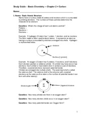 02 - study guide -  Basic Chemistry