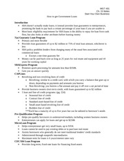 MGT 491 Start Your Own Business Notes CH. 15