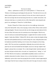 Finished Essay (1) - The Curse of a Lifetime