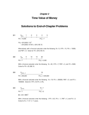 Bus361 Solutions to the suggested problems  of Chapter 2