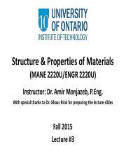 03 Structure and Properties of Materials Lecture #3(1).pdf