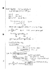 bessel equation study guide