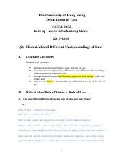 L2 Historical and Different Understandings of Law note.docx