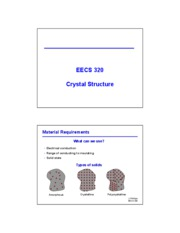 02 - Crystal structure