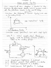 2)Class Notes for Vapor Power Cycles