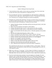 CC-ENGL 103-Guide to Writing In-Class Writing.docx