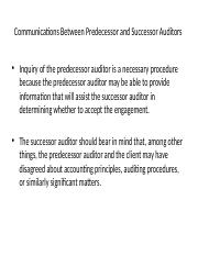 communication with prior auditors.pptx