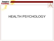 Ch 35 Health Psychology