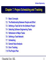 Project Scheduling and Tracking.ppt