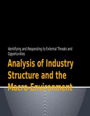 BUS 605 Industry Structure Analysis (1)