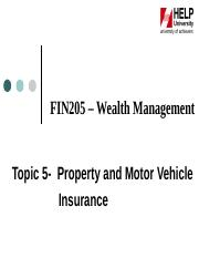 Topic_5_-_Property_and_Motor_Vehicle_Insurance.ppt