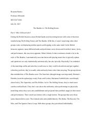 The Beatles vs. The Rolling Stones - Bryanna Ramos.docx
