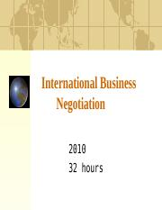 1-International-Business-negotiation