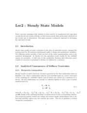 Lec2-Steady_State_Model