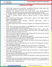 Current Affairs Pocket PDF - May 2015 by AffairsCloud_2.pdf