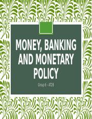 6.1. Money Banking & Monetary Policy.pptx