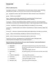 Meiosis Worksheet F20.doc   Name Meiosis Worksheet Define ...