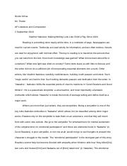 3 What is the authors tone Where and how does it change Nabokovs ...
