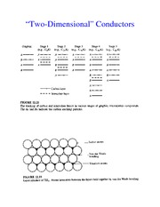 Two Dimensional Conductors