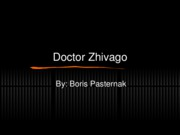Doctor Zhivago Powerpoint