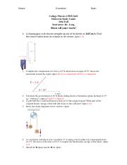 Collge Physics I PHY1610_Midterm-StudyGuide.pdf