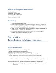 Principles of Microeconomics_2014 ALL NOTES